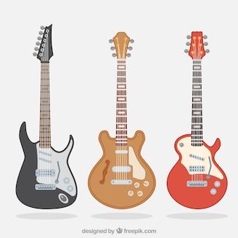 Varietà di chitarre elettriche