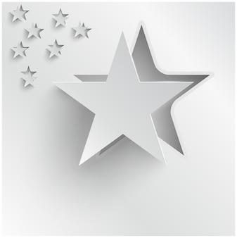Vector astratto stelle di sfondo. Web design