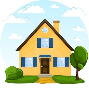 Immobiliare foto e vettori gratis for Layout di casa gratuito