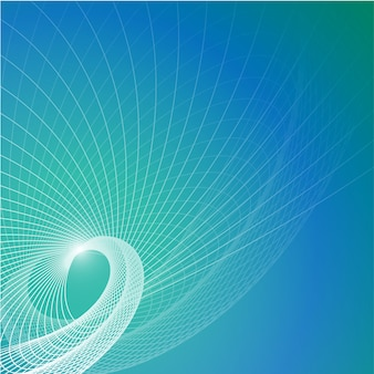 Vector sfondo blu contemporaneo