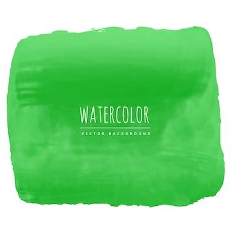 Verde acquerello texture di sfondo