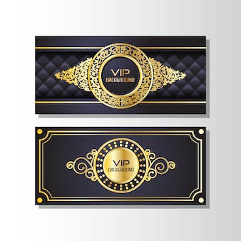 Vip banner design