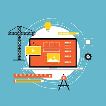 Web in fase di progettazione la costruzione