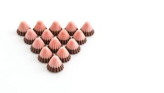 Aardbeienchocolade
