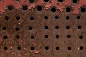 Abstracte roestige metalen textuur achtergrond
