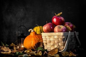 Achtergrond van de herfst oogst