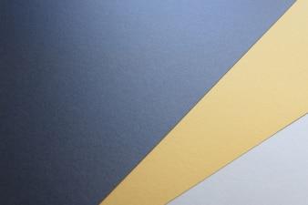 Achtergrond van drie kleuren modern design, zwart, wit en geel.