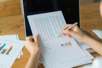 Analysegegevens statistieken analyseren prijs
