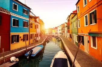 Architectuur Venetië mediterraan toerisme reis