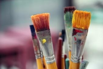 Art omgeving hout canvas decoratie