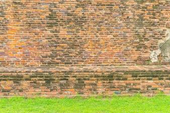 Bakstenen muur textuur voor achtergrond