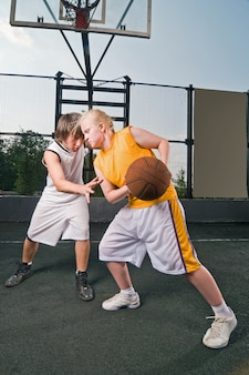 Basketbal matchup