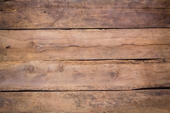 Bedorven houten planken