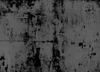 Bedorven witte muur in negatieve