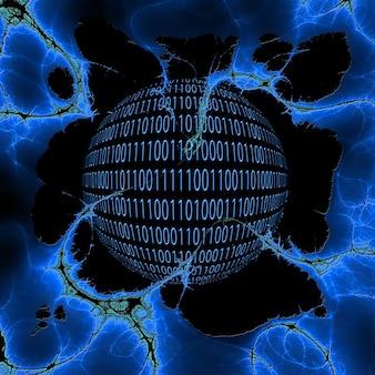 Beheerder null crash een binaire fractal