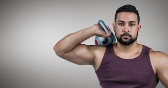 Bepaling wellness digitaal gegenereerde sterke fysieke