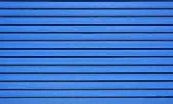Blauwe horizontale gestreepte houten achtergrond textuur