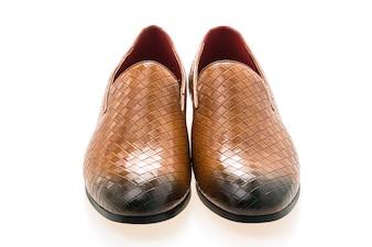 Bruine lederen schoenen