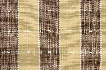 Bruine stof gestreepte textuur voor achtergrond