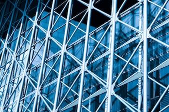 Clean wolkenkrabbers kantoor breed architectuur