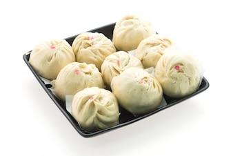 Geïsoleerd Dumpling broodje