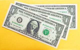 Geld close up