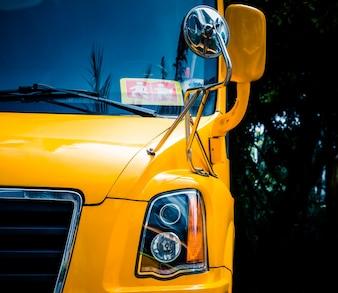Gele schoolbus