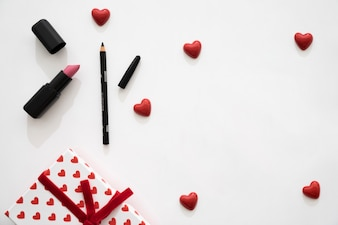 Gift box, kleine harten en eyeliner