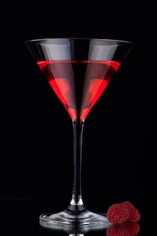 Glas met wijn
