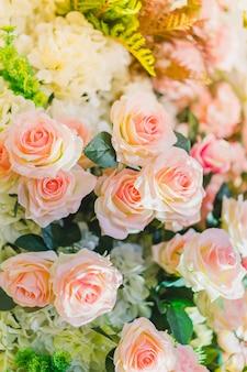 Gordijn valentine vers plantkunde flora