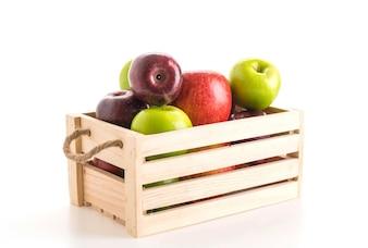 Groene en rode appels