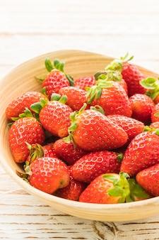 Groep Aardbeien of Aardbeien Fruit