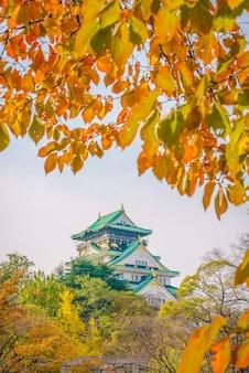 Het kasteel van Osaka in Osaka Japan