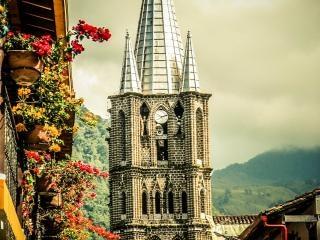 Iglesia jardin Antioquia