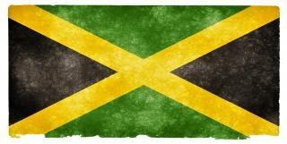 Jamaica grunge vlag