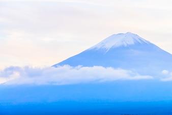 Japan blauw fuji reizen winter