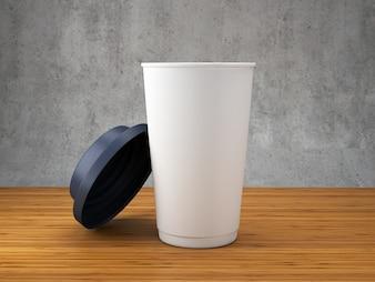 Koffie papier mok