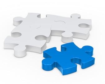 Laatste stukje van de puzzel te voltooien
