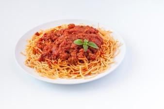 Levensstijl eten pasta lekker gourmet