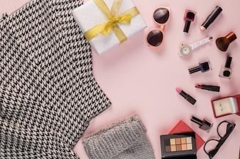 Make-up rokje doos aanwezig