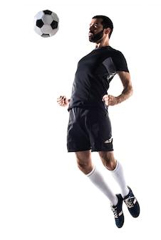 Man voetbal spelen