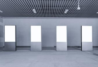 Moderne achtergrond gang gebouw muur
