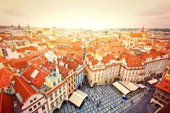Monumenten van Praag.