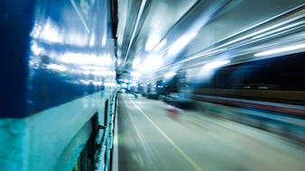 Motion Blur op het station