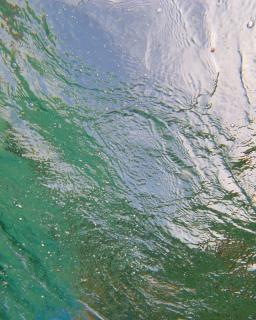 Onderwater reflectie