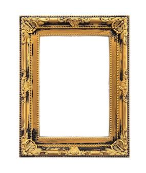 Oud houten frame