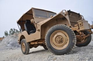 Oude jeep