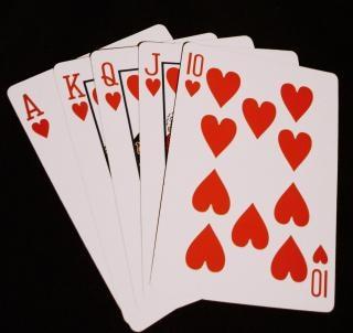 Pokeravond, harten