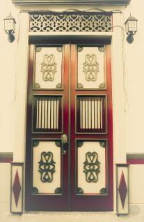 Puerta jardin Antioquia vintage
