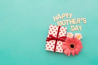 """""""Dag van de gelukkige moeder"""" belettering"""